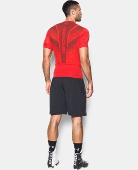Men's HeatGear® SuperVent Armour Football Short Sleeve Shirt  1 Color $49.99