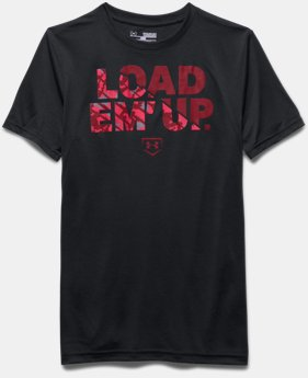 Boys' UA Load 'Em Up Short Sleeve T-Shirt
