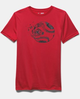 Boys' UA Fastball Short Sleeve T-Shirt