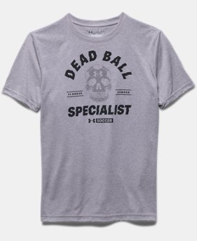 Boys' UA Dead Ball Short Sleeve T-Shirt