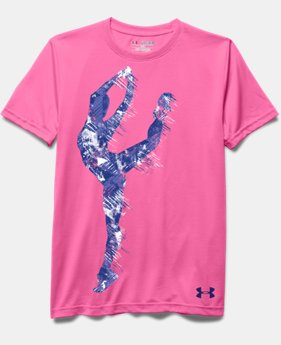 Girls' UA Dance Girl Short Sleeve T-Shirt