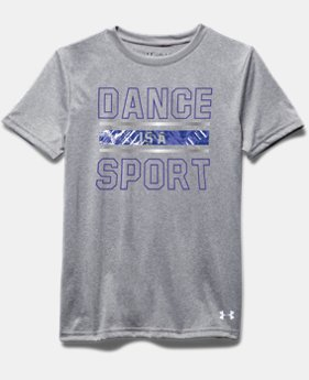 Girls' UA Dance Is A Sport Short Sleeve T-Shirt