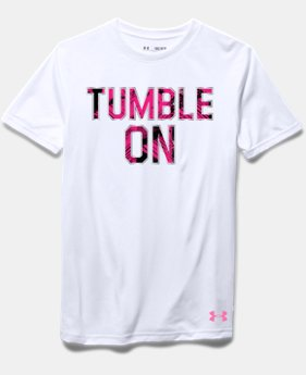 Girls' UA Tumble On T-Shirt