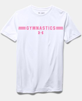 Girls' UA Gymnastics T-Shirt