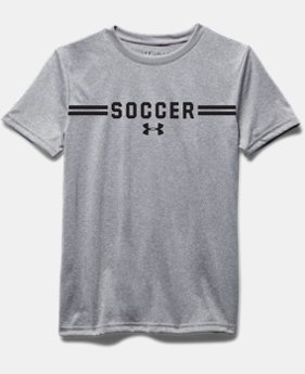 Girls' UA Soccer Short Sleeve T-Shirt