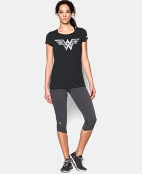 Women's Under Armour® Alter Ego Wonder Woman Foil Logo T-Shirt LIMITED TIME: FREE SHIPPING 1 Color $34.99