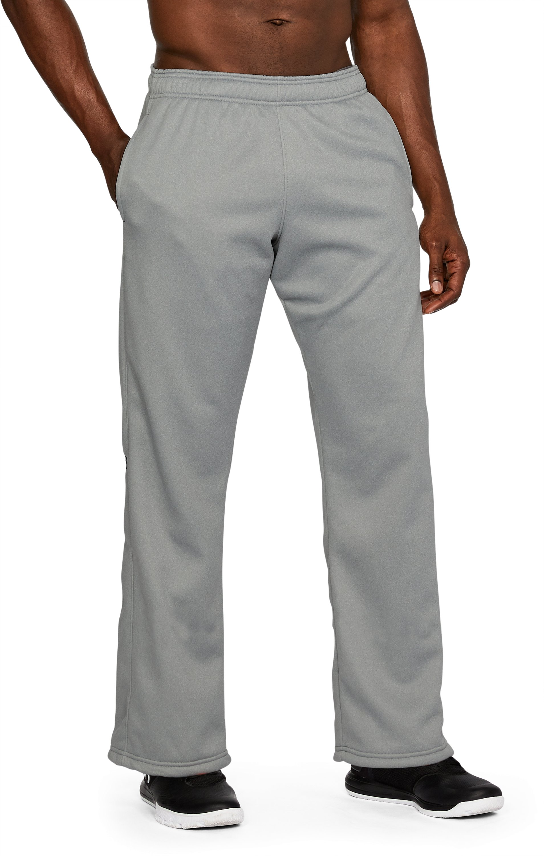 Men's UA In The Zone Pants, True Gray Heather