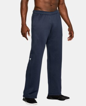 New Arrival  Men's Armour® Fleece Double Threat Pants  1 Color $64.99