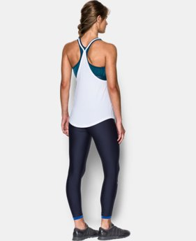 Women's HeatGear® Armour Printed 2-in-1 Tank  1 Color $48.99