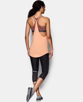 Women's HeatGear® Armour Printed 2-in-1 Tank  1 Color $30.99 to $38.99