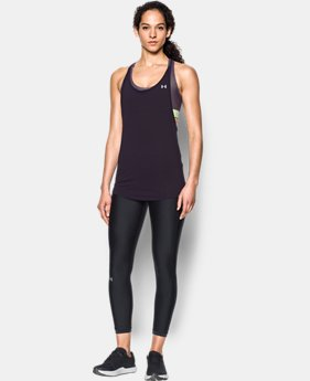 New Arrival Women's HeatGear® Armour Printed 2-in-1 Tank  3 Colors $54.99
