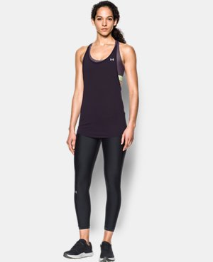 New Arrival Women's HeatGear® Armour Printed 2-in-1 Tank   $54.99