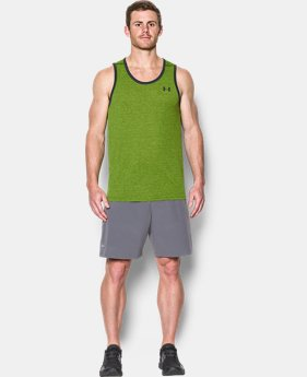 Men's UA Threadborne Heathered Tank  3 Colors $15.74 to $16.88