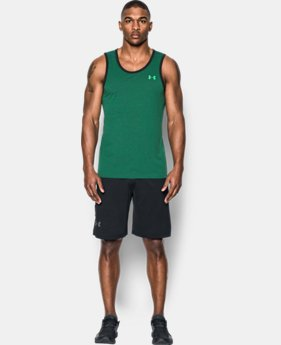 Men's UA Threadborne Heathered Tank  2 Colors $20.99 to $22.99