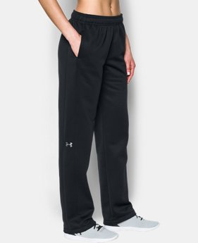 Women's UA Double Threat Armour® Fleece Pants  4 Colors $64.99