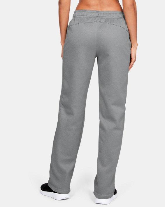 Women's  UA Double Threat Armour Fleece® Pants, Gray, pdpMainDesktop image number 3
