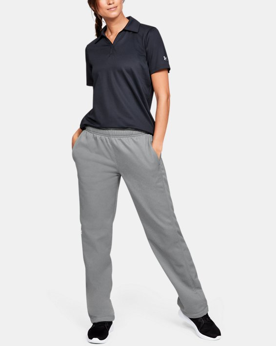 Women's  UA Double Threat Armour Fleece® Pants, Gray, pdpMainDesktop image number 1