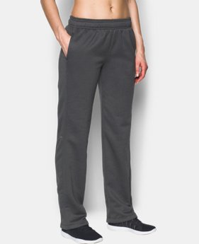 New to Outlet Women's UA Double Threat Armour® Fleece Pants LIMITED TIME OFFER 2 Colors $39.99