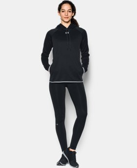 New Arrival  Women's UA Double Threat Armour® Fleece Hoodie  7 Colors $64.99