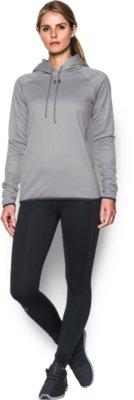 Womens UA Double Threat Armour Fleece Hoodie Under Armour US