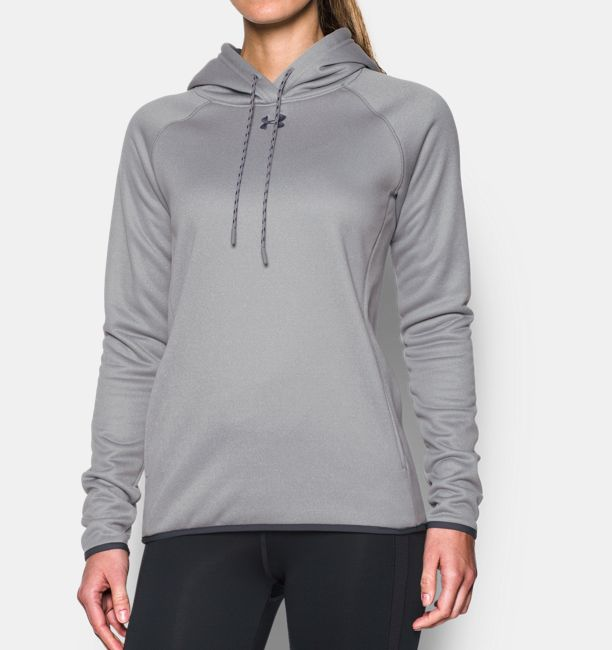 7a9c7586 Women's UA Double Threat Armour Fleece® Hoodie