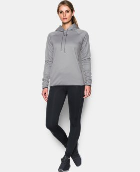 Women's UA Double Threat Armour® Fleece Hoodie  7 Colors $59.99