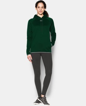 Women's UA Double Threat Armour® Fleece Hoodie LIMITED TIME OFFER 1 Color $47.26