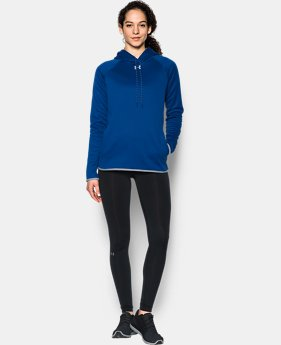 Women's UA Double Threat Armour® Fleece Hoodie  2 Colors $59.99