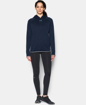 Women's UA Double Threat Armour® Fleece Hoodie  7 Colors $64.99