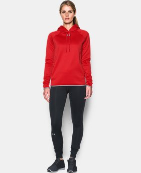 New to Outlet Women's UA Double Threat Armour® Fleece Hoodie LIMITED TIME OFFER 1 Color $39.99