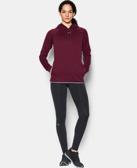 Women's  UA Double Threat Armour Fleece® Hoodie  1  Color Available $64.99