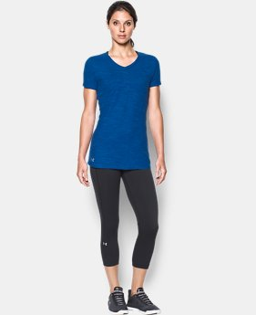 Women's UA Stadium Flow T-Shirt FREE U.S. SHIPPING 1  Color Available $25
