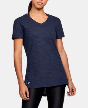 Women's UA Stadium Flow T-Shirt  1  Color Available $25
