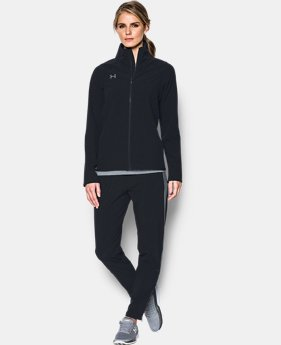Women's UA Squad Woven Full Zip Jacket  1 Color $69.99