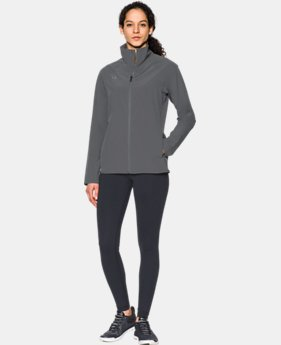 Women's UA Squad Woven Full Zip Jacket  1  Color Available $60