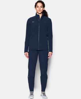Women's UA Squad Woven Full Zip Jacket  3  Colors Available $60
