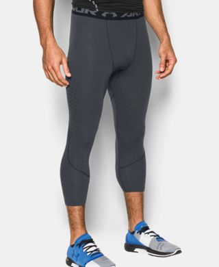 Men's HeatGear® CoolSwitch Armour Twist Compression ¾ Leggings