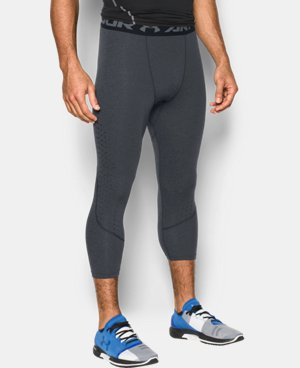 New Arrival  Men's HeatGear® CoolSwitch Armour Twist Compression ¾ Leggings  1 Color $49.99