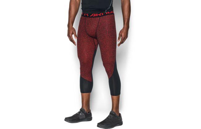 男士HeatGear® CoolSwitch Armour 2C强力伸缩型紧身七分裤