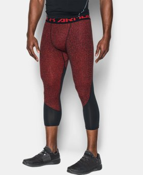 Men's HeatGear® CoolSwitch Armour Compression ¾ Leggings  1 Color $25.49