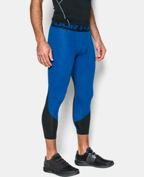 Men's HeatGear® CoolSwitch Armour Compression ¾ Leggings  1 Color $33.99