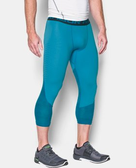 Men's HeatGear® CoolSwitch Armour Compression ¾ Leggings  2 Colors $26.99 to $33.99