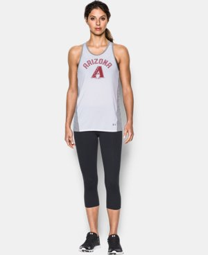 Women's Arizona Diamonbacks UA Tech™ Tank LIMITED TIME: FREE U.S. SHIPPING 1 Color $36.99