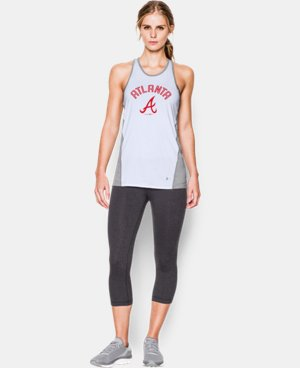 Women's Atlanta Braves UA Tech™ Tank LIMITED TIME: FREE U.S. SHIPPING 1 Color $36.99
