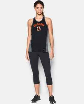 Women's Baltimore Oriole's UA Tech™ Tank LIMITED TIME: FREE U.S. SHIPPING 1 Color $27.99