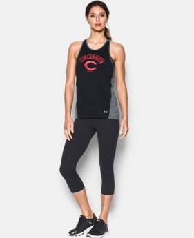 Women's Cincinnati Reds UA Tech™ Tank LIMITED TIME: FREE SHIPPING 1 Color $36.99