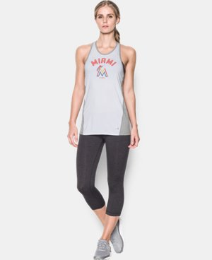 Women's Miami Marlins UA Tech™ Tank LIMITED TIME: FREE U.S. SHIPPING 1 Color $27.99