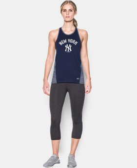 Women's New York Yankees UA Tech™ Tank LIMITED TIME: FREE SHIPPING 1 Color $32.99