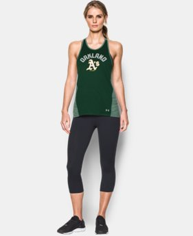 New to Outlet Women's Oakland Athletics UA Tech™ Tank  1  Color Available $27.74