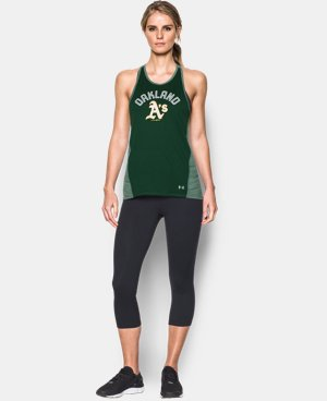 Women's Oakland Athletics UA Tech™ Tank LIMITED TIME: FREE U.S. SHIPPING 1 Color $36.99